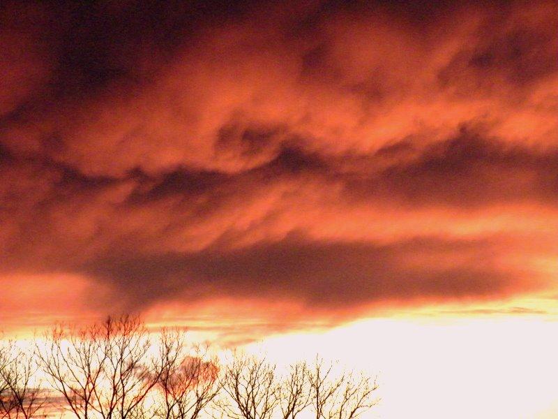 Texas sky after a storm