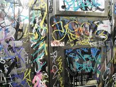 Crowded Much? (BiggerThanHagrid) Tags: graffiti graff siren bth