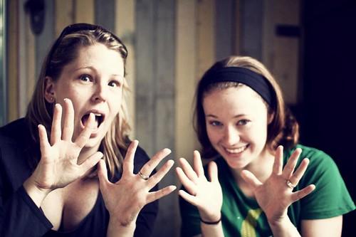 72/365: spirit fingers and liz!