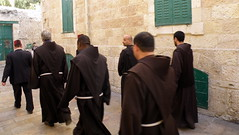 Monks in the Old City of Jerusalem