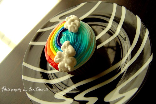 Rainbow Cupcake <3