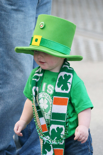 St. Patricks Day Kid