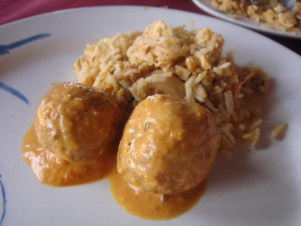 Malai Koft w/Rice