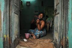 DSC_1461 (Magdalena Malinowska) Tags: morning gay people india aids indian suburbs chennai begging gender transsexual hijra aravani