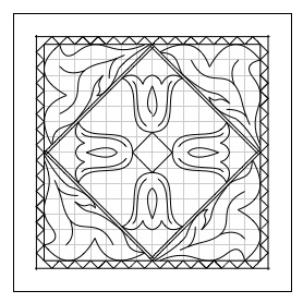 How do you use free chip-carving patterns?