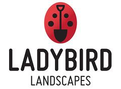 Ladybird Landscapes (Sarah Ferrari) Tags: grass promotion sarah illustration work garden logo typography graphicdesign landscapes graphics brighton gardening landscaping insects ferrari ladybird fonts vector logos branding typeface spade crawlies