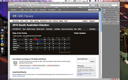 Following the South Aussie election