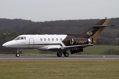 I-RONY - 258506 - Alba Servizi Trasporti - Raytheon Hawker 800XP - Luton - 091208 - Steven Gray - IMG_4853