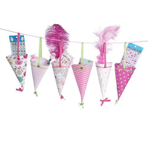Pink Party Cones