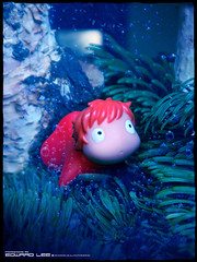 Ponyo_1 (EdwardLee's collection) Tags: sea cliff by movie cartoon collection miyazaki animation ghibli hayao ponyo edwardlees