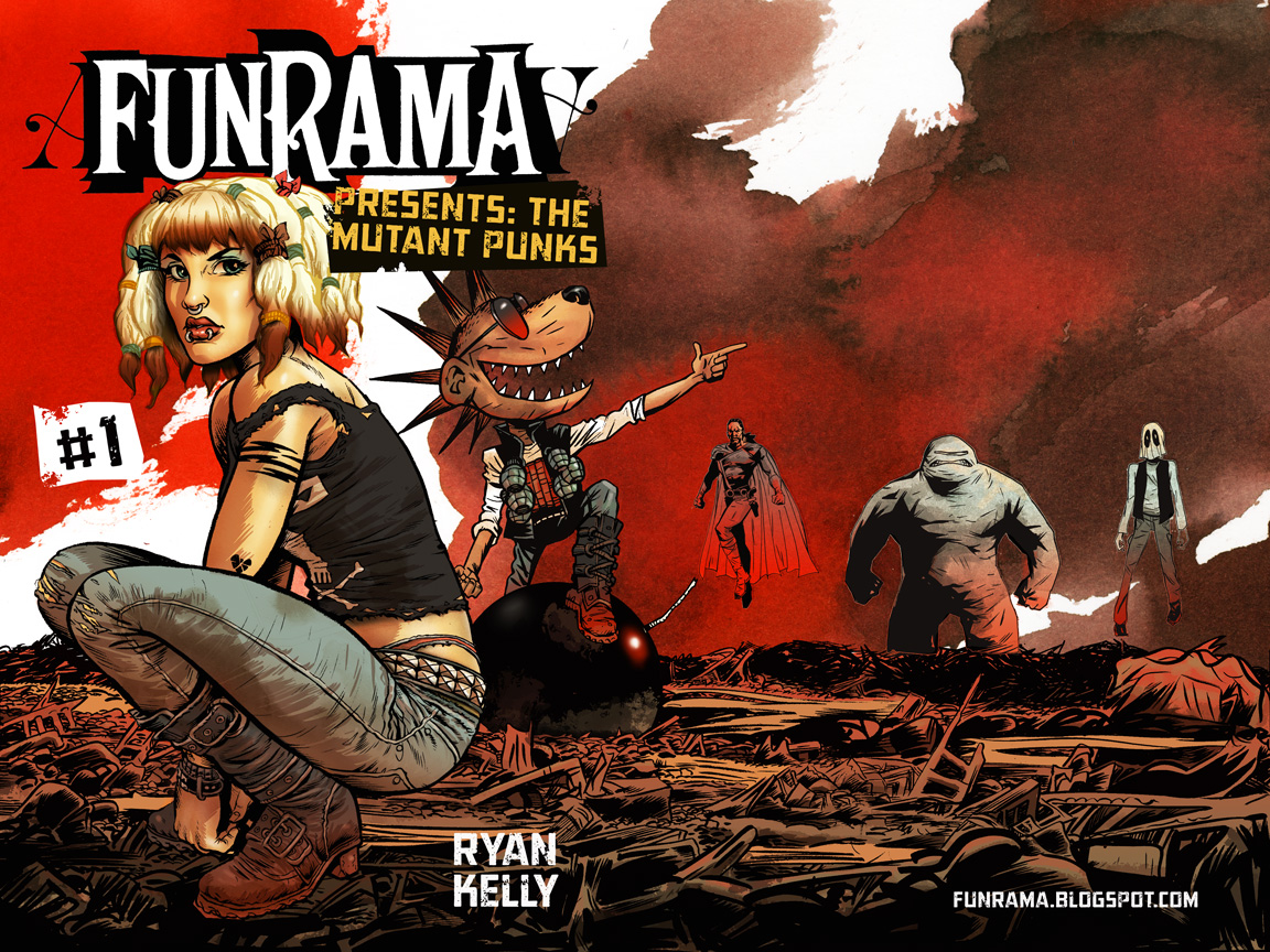 The Mutant Punks cover art
