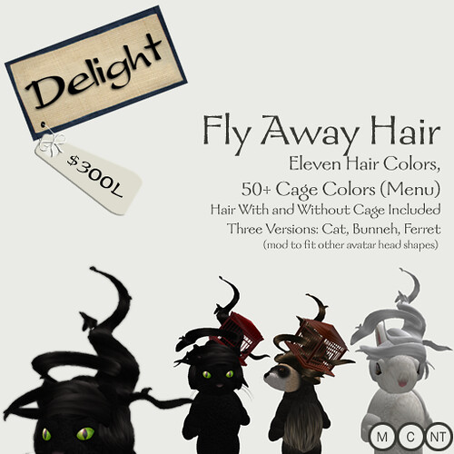 Fly Away Hair by you.