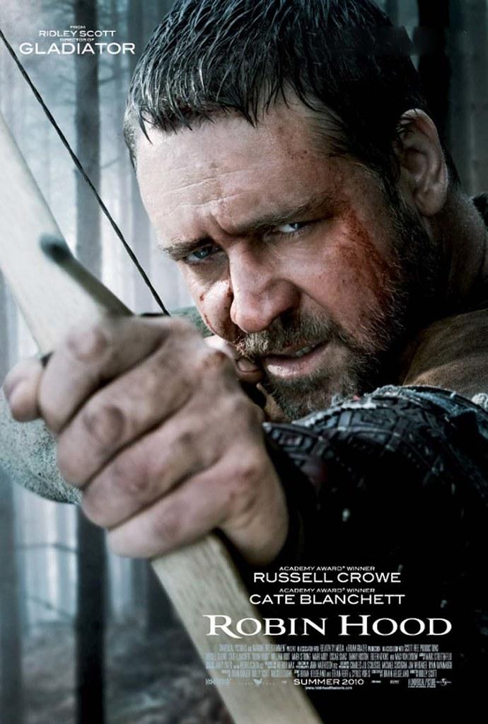 Ridley Scott's Robin Hood 2010 movie poster