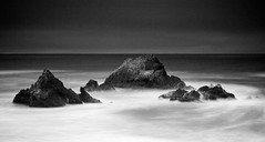 Seal Rock (Jay Tankersley Photography) Tags: ocean california white seascape black beach rock san francisco long exposure pacific coastal seal nd grad