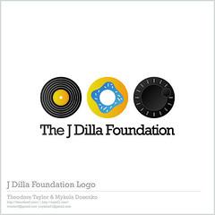 J Dilla Foundation Logo Concept #2