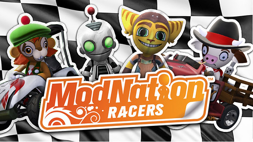 ModNation Racers - Ratchet and Clank pack