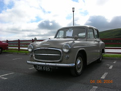 IMR 18 TSK 695 Hillman Minx Mark VIII (ronnie.cameron2009) Tags: travel cars car 1 passengers minx shetland hillman clickimin