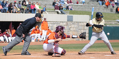 DSC_8213 (Subaruman555) Tags: college nikon baseball catcher batter umpire virginiatech hokies 8020028 d300s englishfield march272010