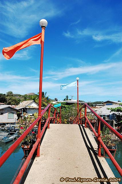 Footbridge at Sea Dive Resort