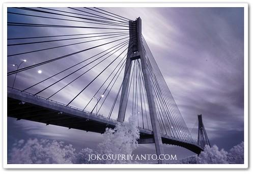 Jembatan Barelang Batam Malam Hari