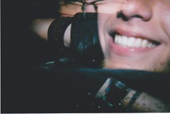 hiding faces (come out, leah) Tags: lomography holga135