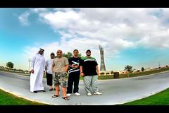 Aspire Tower (YOUSEF AL-OBAIDLY) Tags: fisheye doha qatar aspire yousef الكويت كويت قطر الدوحة aspiretower سباير المراغي يوسفالعبيدلي aspirezone المدينةالرياضية