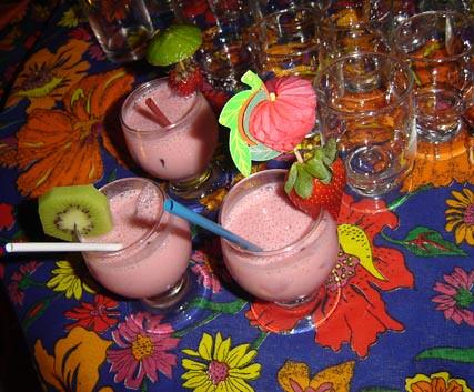 festa havaiana decoração