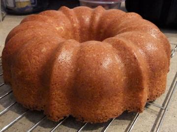 Coconut Tea Cake