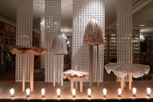 Vitrine Repetto - Paris, mars 2010
