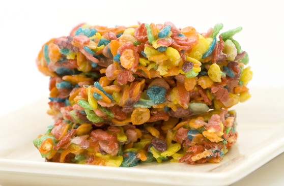 Fruity crispie treat