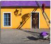"Working among shadows and colours (Nespyxel) Tags: roof work stair colours tetto shadows prague streetlamp manatwork working praha praga ombre tiles scala colori wheelbarrow barrow lampione tegole operaio carriola cy2 challengeyouwinner superlativas nespyxel stefanoscarselli ""pleasedontusethisimageonwebsites blogsorothermediawithoutmyexplicitpermission©allrightsreserved"""