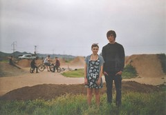(Anna Hollow) Tags: boy girl friend sister bobby lexi annahatzakis skatingdunes annahollow
