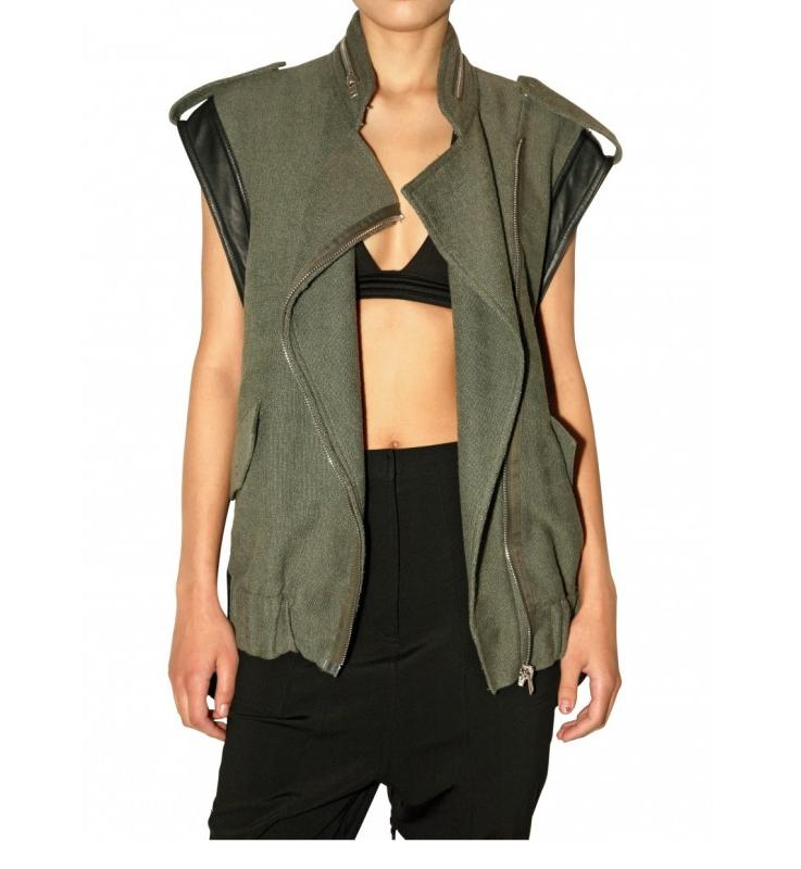 Alexander Wang SS10 canvas nylon jacket