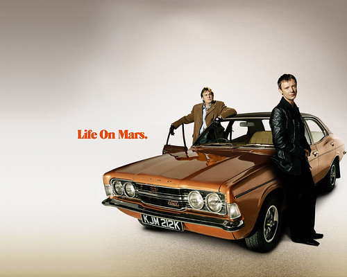 life on mars wedding car