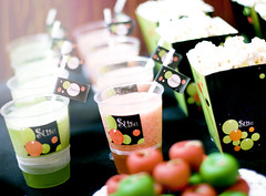 SuSu  (FUNKYAH) Tags: strawberry popcorn marzipan juices themed bacheloretteparty susuwa sweettable latable lemonwithmint