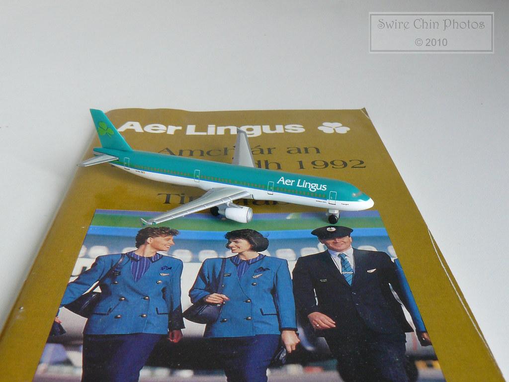 Aer Lingus Amchlár an tSamhraidh 1992