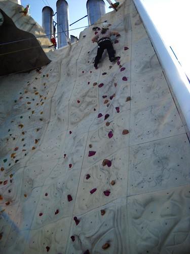 Rock climbing - Ben