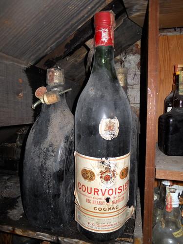 Courvoisier Flasche