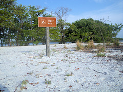Camping Sign Tiger Key Photo