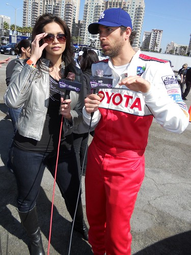 Zachary Levi ,Toyota Grand Prix of Long Beach, Celeb Practice