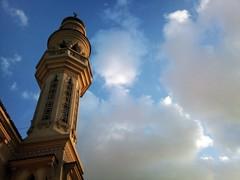 Mnarah ()!(BlaCk * Sn!PeR)!() Tags: cloud مسجد سماء سحب منارة زرقاء
