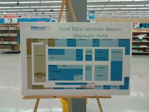 Wal Mart 73rd Street Windsor Heights Des Moines Iowa New