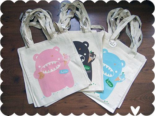 Riceroar Tote Bags