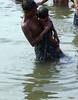 Father & Son 1.2 Varanasi (amiableguyforyou) Tags: india men up river underwear varanasi bathing dhoti oldmen ganges banaras benaras suriya uttarpradesh ritualbath hindus panche bathingghats ritualbathing langoti dhotar langota