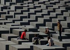 Germany - Berlin - Memorial to the Murdered Jews of Europe (Jim Strachan) Tags: berlin memorialmurderedjews