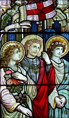 St Dorothy, St George and St Cecilia