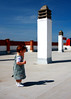 my shadow (gabor images) Tags: blue roof shadow sky baby girl spain alone hanna child tokina1224 nerja canon40d