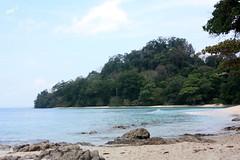 Radhanagar Beach ,Havelock (keedap) Tags: india beach asia honeymoon deepak deep x virgin kanu havelock andaman sharma keerti besr radhanagar