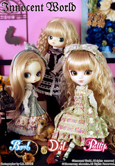 June releases- Innocent World collab (miss_skittlekitty) Tags: pretty dolls dal pullip collaboration gothiclolita innocentworld byul grooveinc