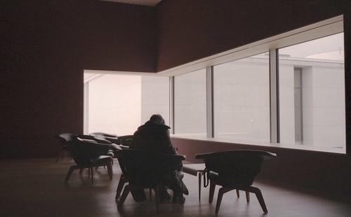 Lounge im Museum Brandhorst
